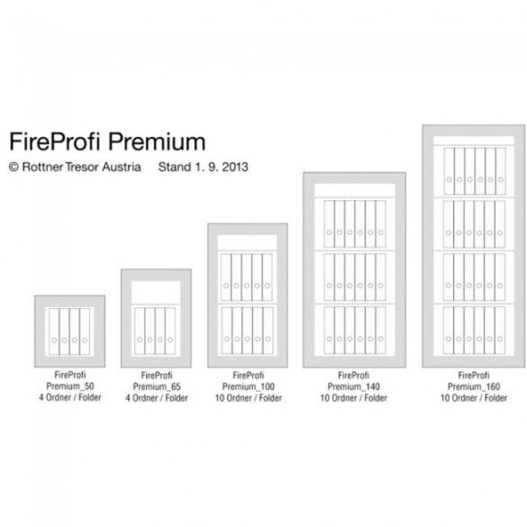 Seif certificat antiefractie antifoc EN1143 FIREPROFI165 electronic